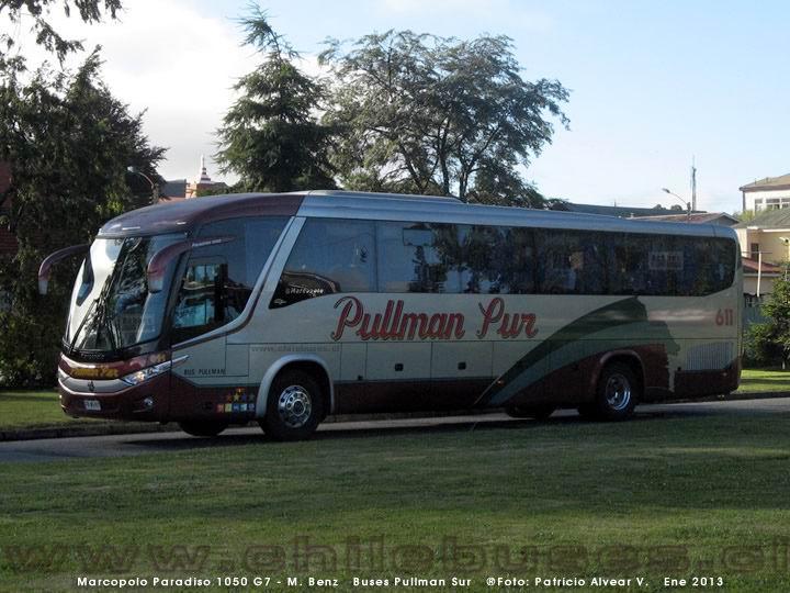 2013 Marcopolo Paradiso 1050 G7-M.Benz-Buses Pullman Sur