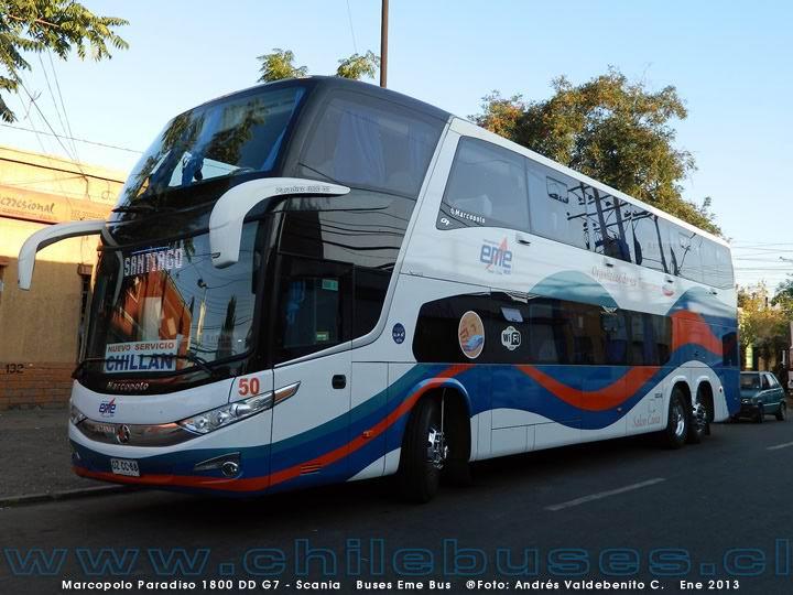 2013 Marcopolo Paradiso 1800 DD G7 Scania