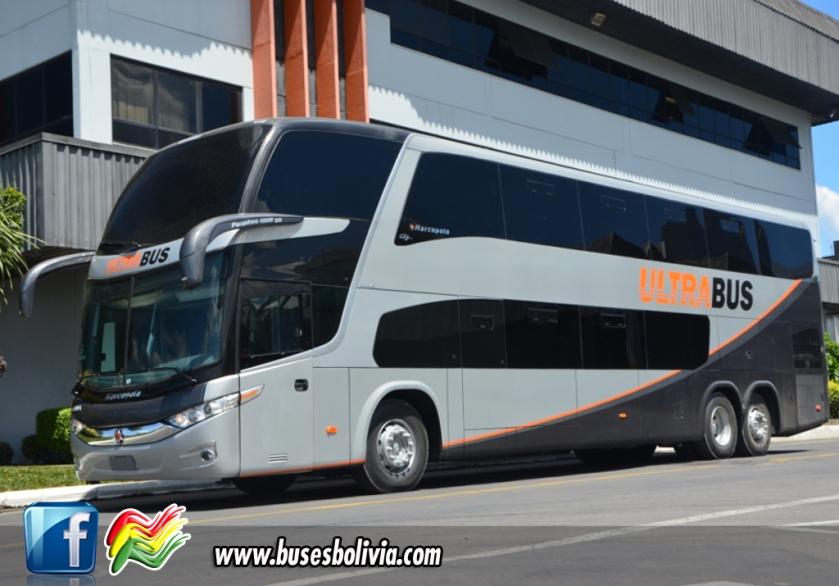 2013 Marcopolo Paradiso 1800 DD G7 Ultra Bus