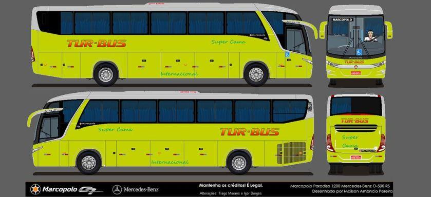 2013 Marcopolo Paradiso G7 1200 Tur Bus Internacional