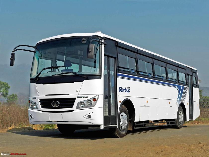 2013 Marcopolo Tata Star bus