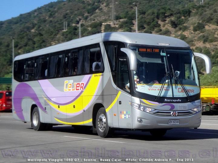 2013 Marcopolo Viaggio 1050 G7 Scania Buses Cejer