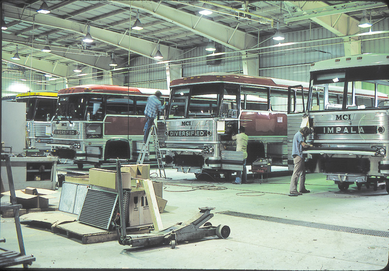 2013 MCI Celebrates 80 Years of Bus Production