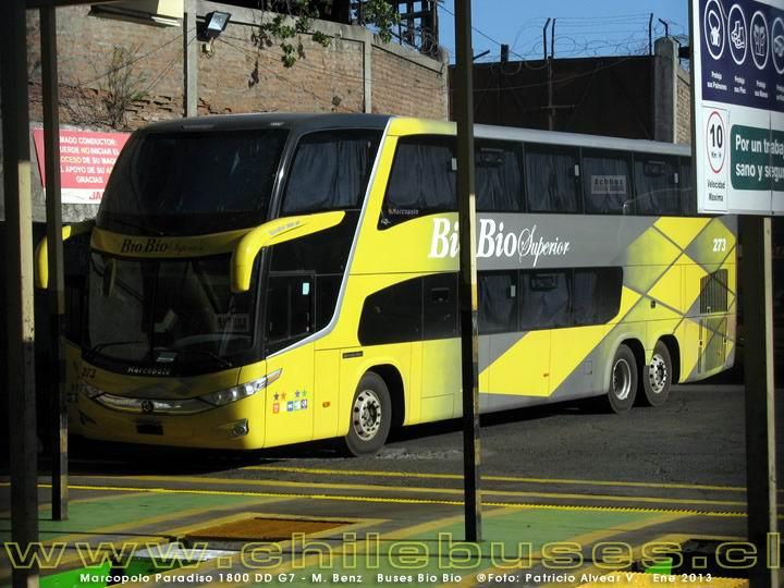 2013 Novedad-Marcopolo Paradiso G7 1800 DD Mercedes Benz Buses Bio Bio