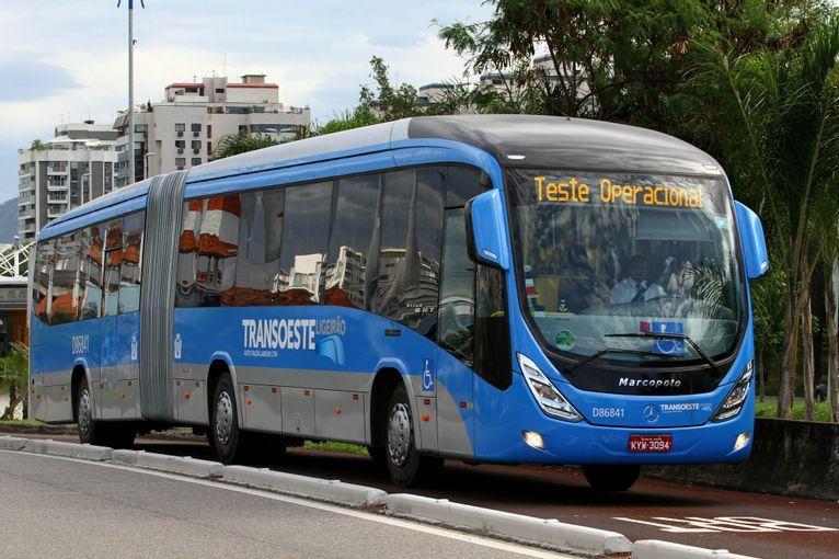 2014 MARCOPOLO Mercedes VIALE BRT BUS transoeste