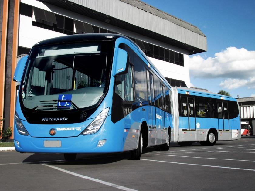 2014 MARCOPOLO VIALE BRT BUS transoeste