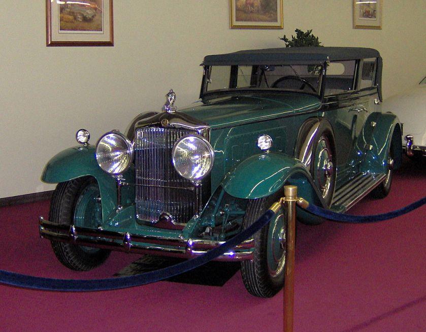 3 1931 Minerva 8 AL Rollston Convertible Sedan