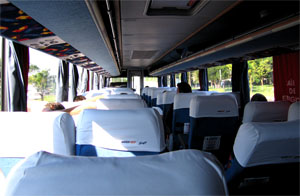 3 Marcopolo bus Interior