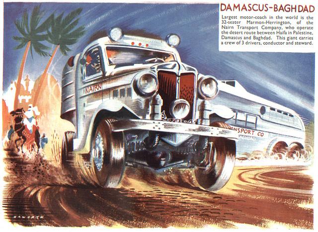 32 seater Motor Coach Damascus Bagdad