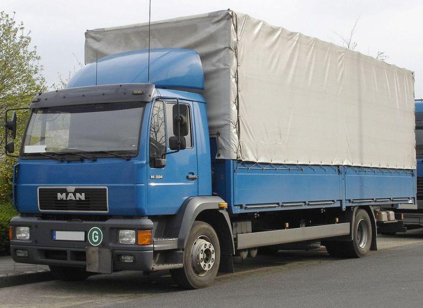 38 MAN 2000 L (mit Fahrerhaus der leichten Klasse) 14.224
