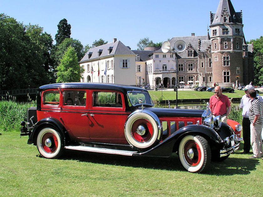 4 1937 Imperia Minerva AP 22 CV limousine