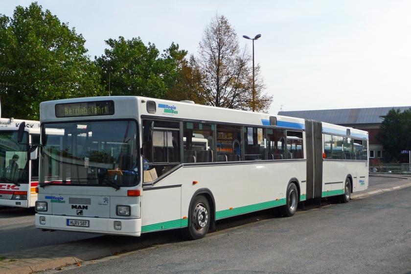 4 1992 MAN SG 292, H-RV 587