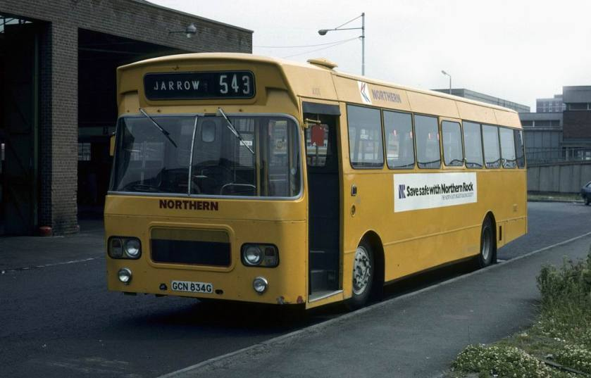 4101 GCN834G Leyland Panther-Marshall Northern