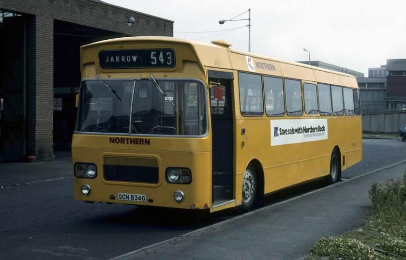 4101 GCN834G Leyland Panther-Marshall Northern