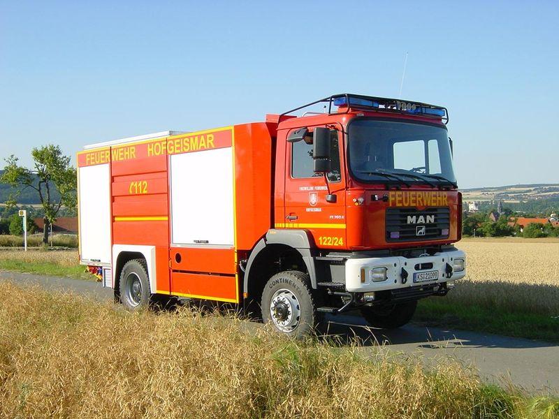 43 MAN TLF24-50 Feuerwehr