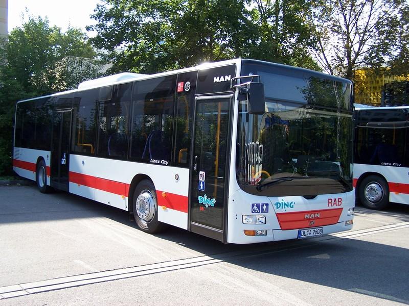 73 MAN Überlandbus NÜ313