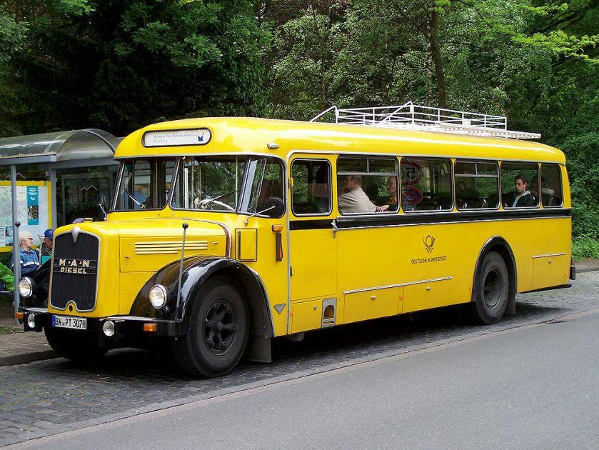 75 MAN Postbus des Museums für Kommunikation Nürnberg