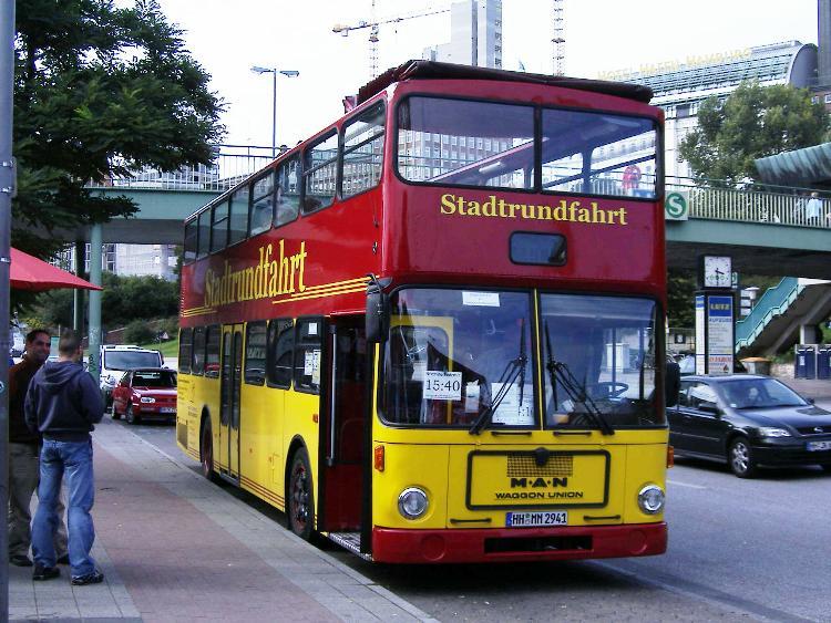 9 MAN SD 200 Stadtrundfahrt