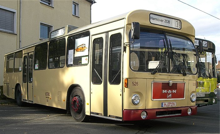 91 1973-86 MAN SL 200 mit VÖV-Front