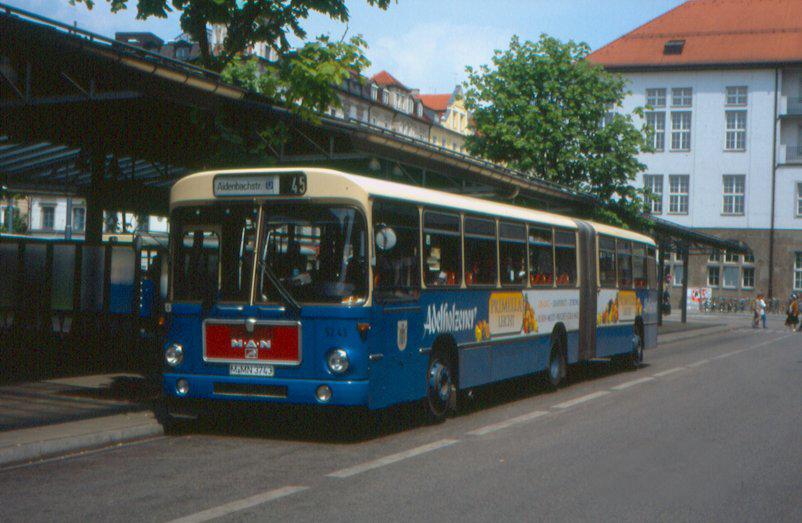 94 1970-80 München-MAN-SG192-Bus5243
