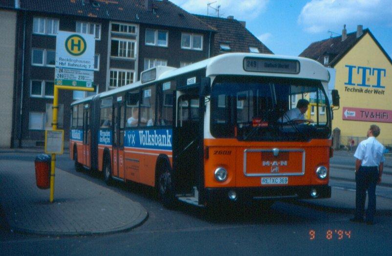 95 1978-83 Recklinghausen-MAN-SG220-Bus-2609