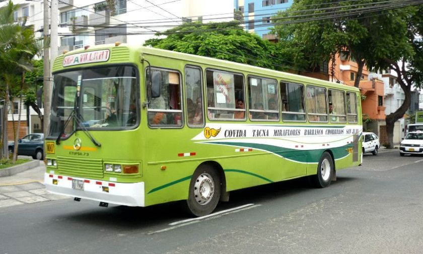 A6A-711 Peru Mercedes Benz Bus 4