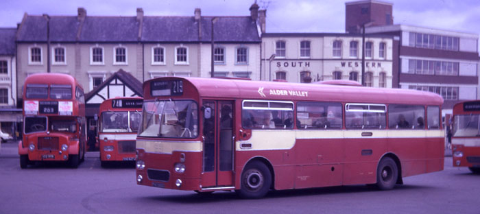AEC Reliances with Marshall 45 seat bus body pho596g