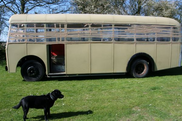 Austin Mulliner Historic Goodwood Transporter Bus New Alloy BODY
