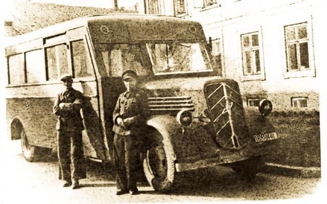 Belarusian MAZ 203 bus