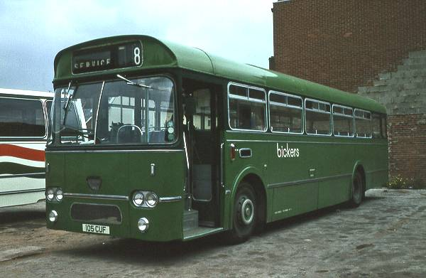Bickers 105CUF, Leyland Leopard - Marshall. Ex Southdown