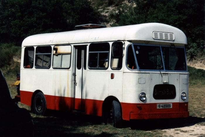 BMC 550FGK .Marshall 29 seater bus.Ex-Gibralter Goverment