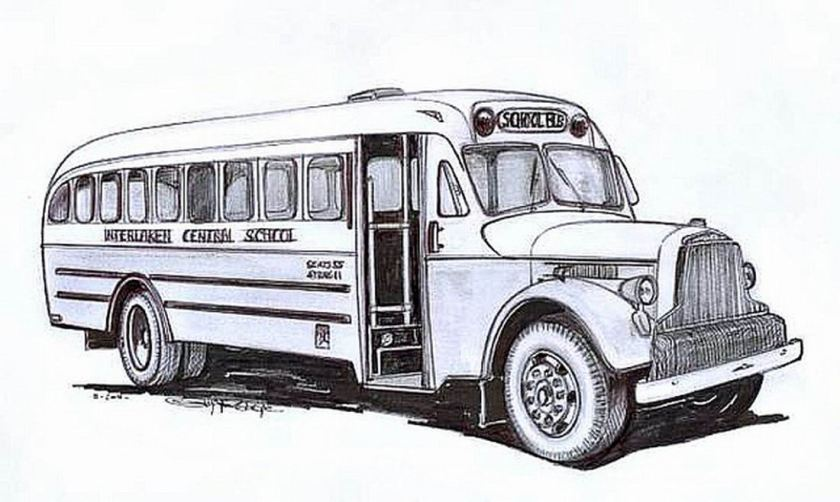 BROCKWAY-MERCURY BUS