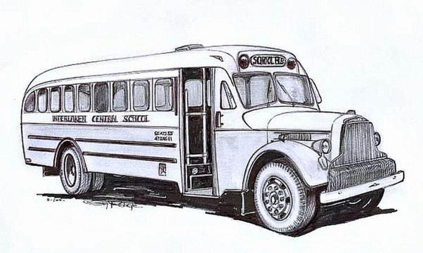 BROCKWAY-MERCURY BUS