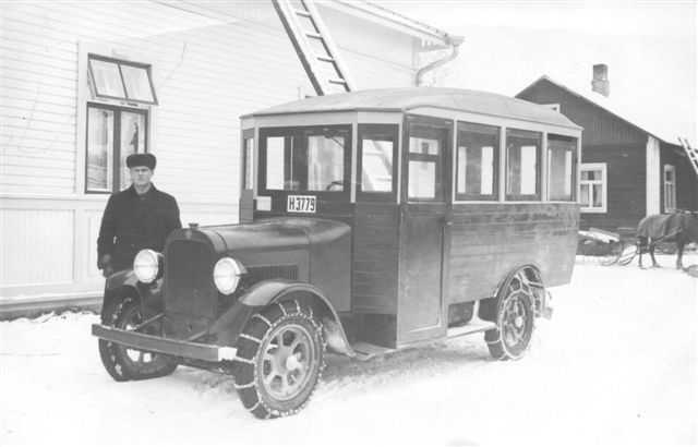 Bus Finland 1920s