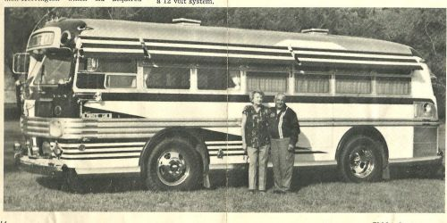 classic Marmon-Herrington coach Motorhome conversion