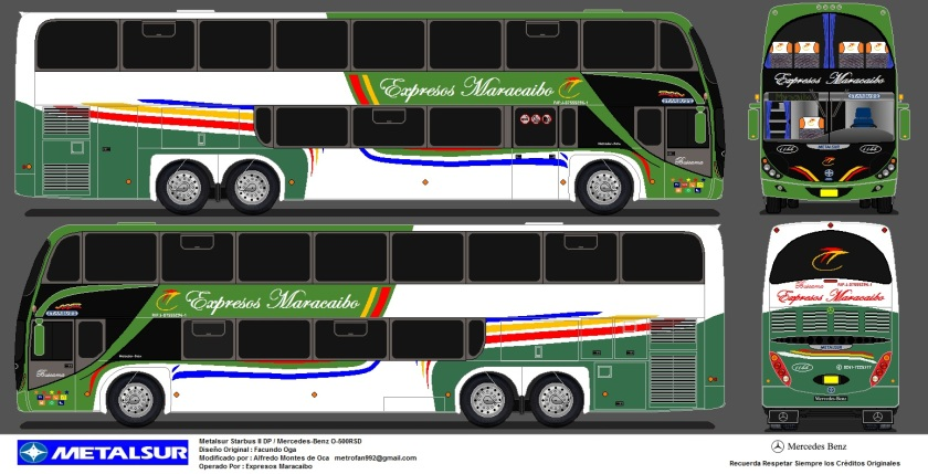 Expresos Maracaibo (1144) Metalsur Starbus II DP MB O-500RSD