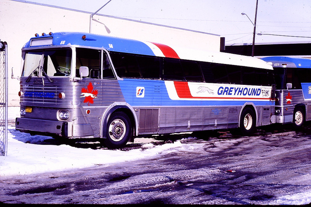 Greyhound Canada bus 56 (MCI MC-5)