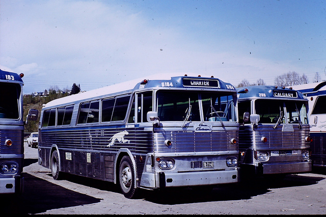 Greyhound Canada bus G164 (MCI MC-2)