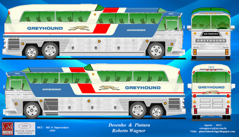 Greyhound - MCI MC-6