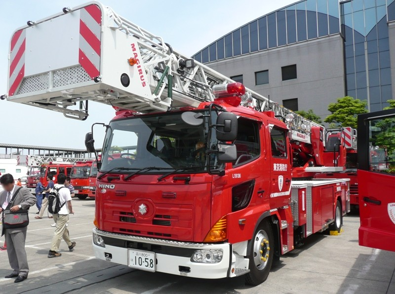 Japanese Fire Service Hino Motors Magirus fire engine