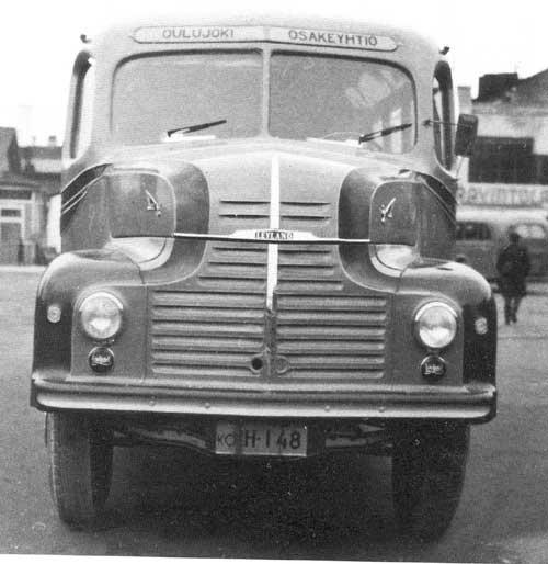 Leyland Comet, Autokori oy