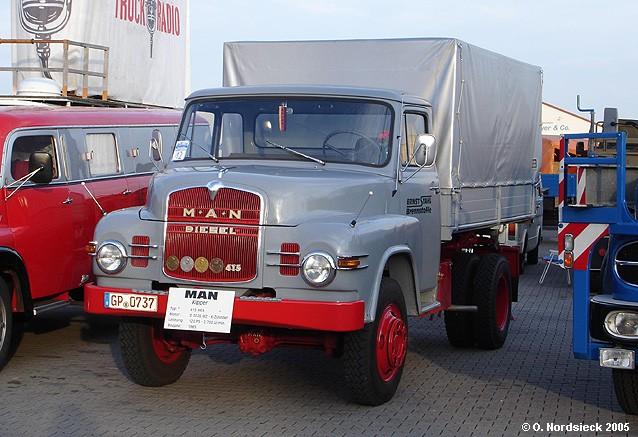 M.A.N. 415 HKA Pritschenkipper