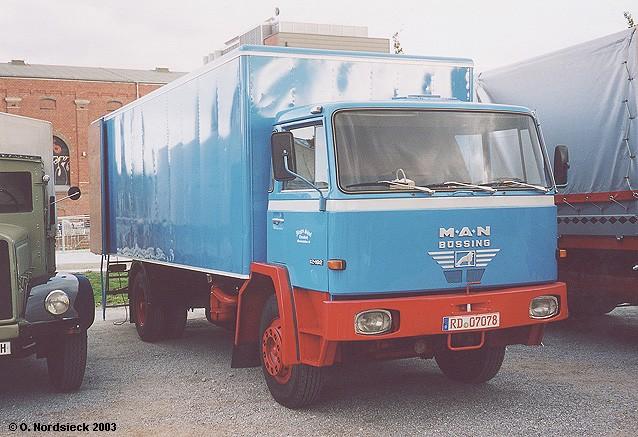 M.A.N.-Büssing 12.192 Koffer-Lkw