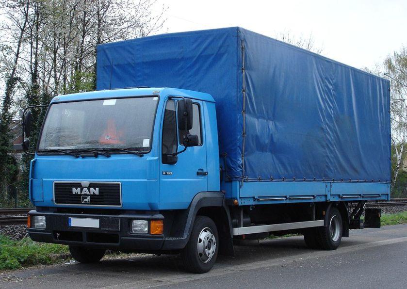 MAN L2000 8-163 Pritschenwagen