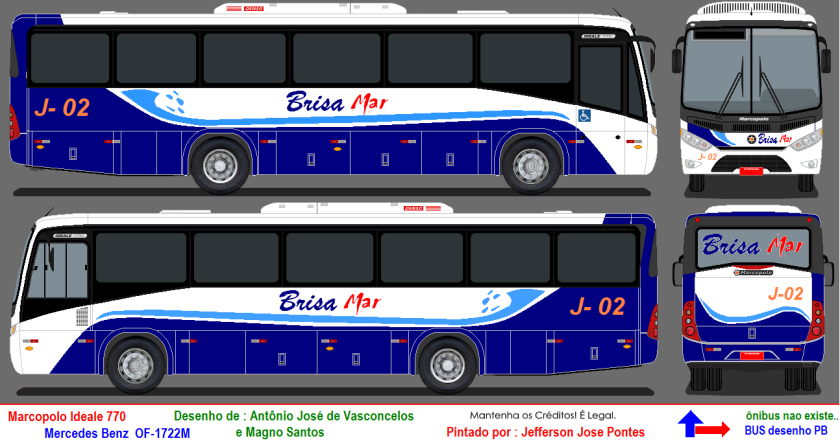 marcopolo ideale mb OF-1722M 770 a