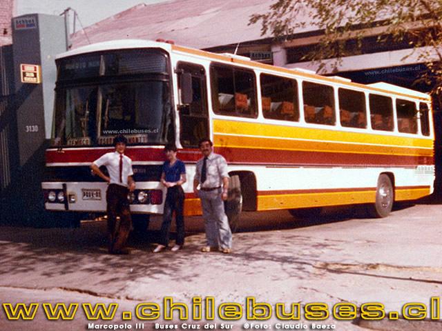 Marcopolo III Buses Cruz del Sur