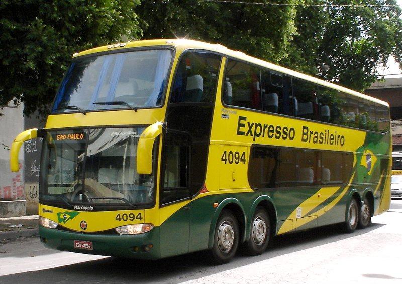 Marcopolo quad axle coach Paradiso G6 1800 DD Brazil