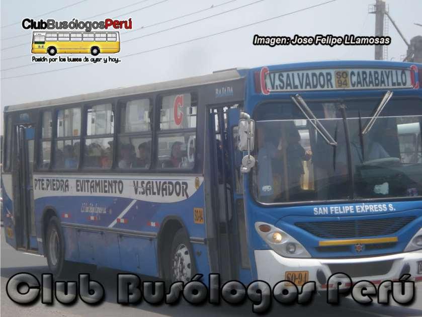 MArcopolo Torino Volvo San Felipe Express
