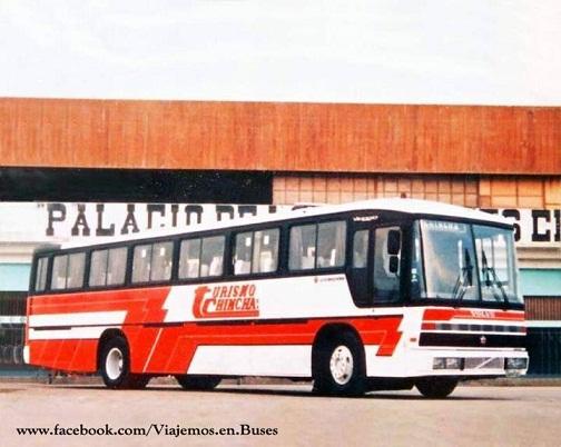 Marcopolo Viaggio 850 GIV- Volvo B10M de Turismo Chincha Turismo-Chincha