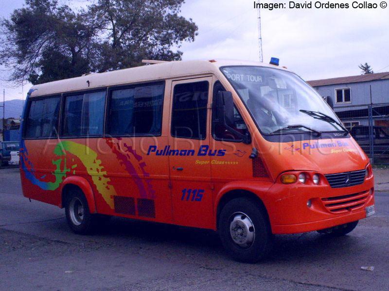 Marcopolo Vicino  Mercedes Benz LO-712  Pullman Bus